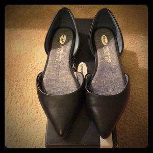 Dr. Scholl's Black Svetlana Flats